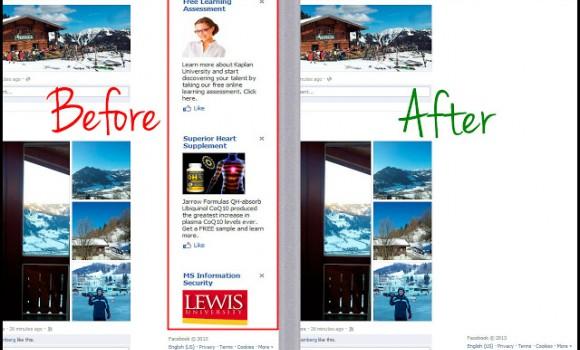 Facebook AdBlock Ekran Görüntüleri - 2