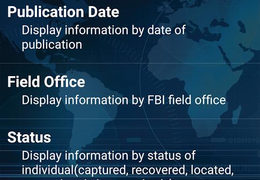 FBI Wanted Ekran Görüntüleri - 5
