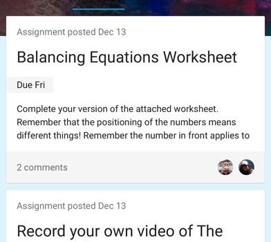 Google Classroom Ekran Görüntüleri - 4