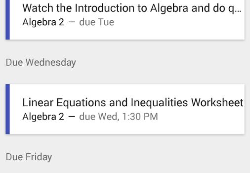 Google Classroom Ekran Görüntüleri - 1