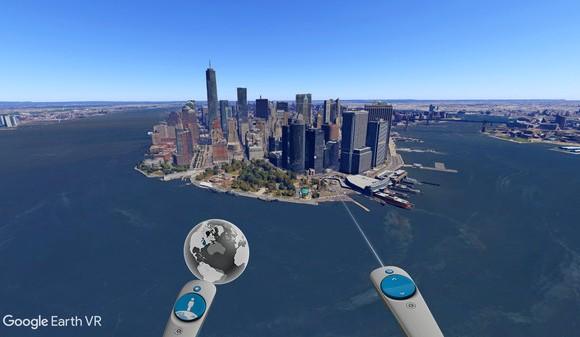 Google Earth VR Ekran Görüntüleri - 4