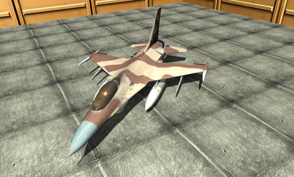 Jet Plane Fighter City 3D Ekran Görüntüleri - 4