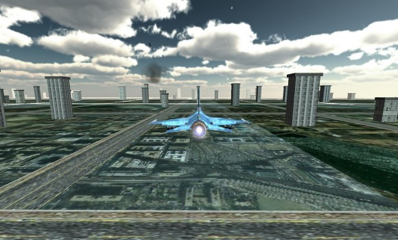Jet Plane Fighter City 3D Ekran Görüntüleri - 1