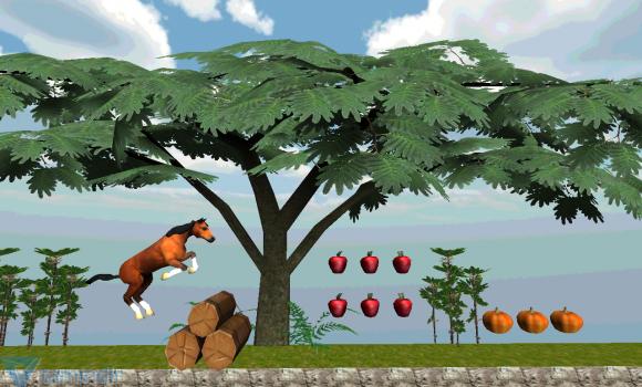 Jungle Horse 3D World Run Ekran Görüntüleri - 4