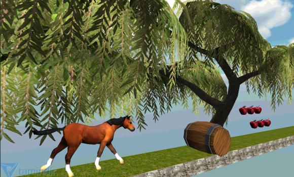 Jungle Horse 3D World Run Ekran Görüntüleri - 2