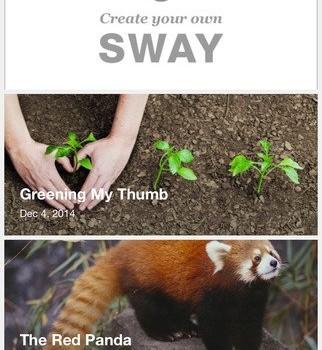 Office Sway Ekran Görüntüleri - 5