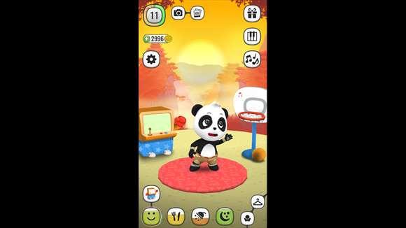My Talking Panda Ekran Görüntüleri - 4