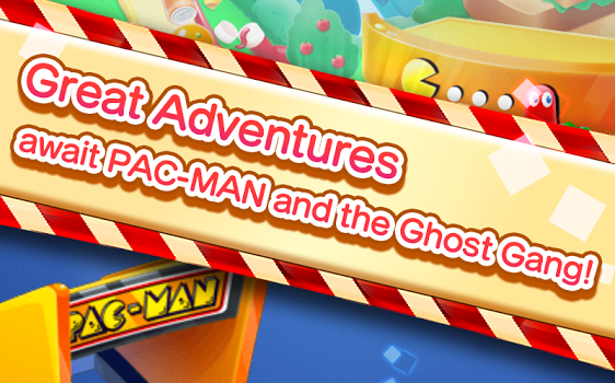 PAC-MAN Puzzle Tour Ekran Görüntüleri - 5