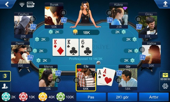 Poker Türkiye Ekran Görüntüleri - 2
