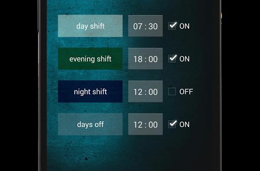 Shift Work Schedule Ekran Görüntüleri - 2