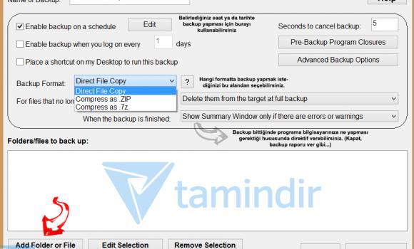 Simple Data Backup Ekran Görüntüleri - 3