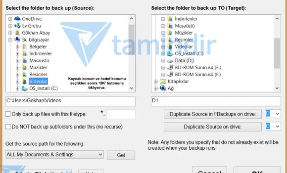 Simple Data Backup Ekran Görüntüleri - 2