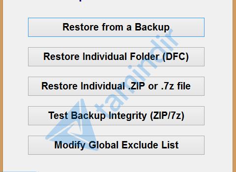 Simple Data Backup Ekran Görüntüleri - 1