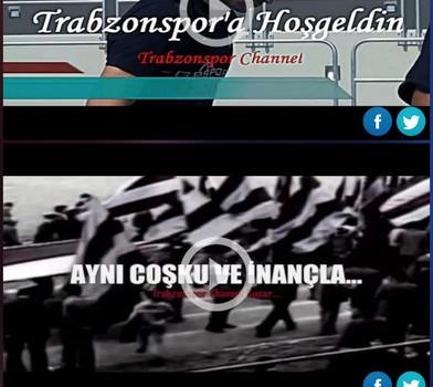 Trabzonspor Resmi Taraftar Uygulaması Ekran Görüntüleri - 1