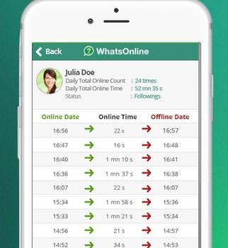 WhatsOnline Ekran Görüntüleri - 2