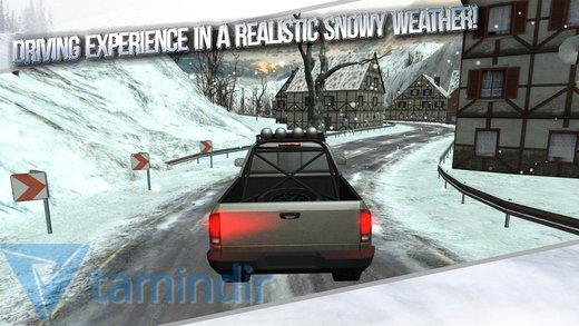 Winter Traffic Car Driving 3D Ekran Görüntüleri - 5