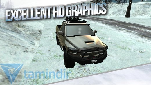 Winter Traffic Car Driving 3D Ekran Görüntüleri - 4