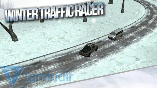 Winter Traffic Car Driving 3D Ekran Görüntüleri - 3