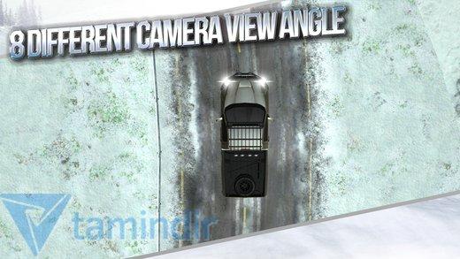 Winter Traffic Car Driving 3D Ekran Görüntüleri - 2