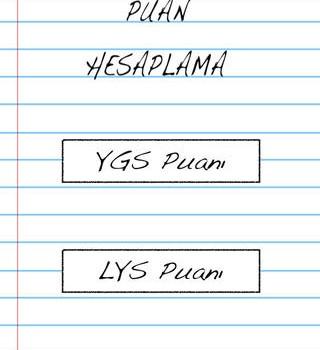 YGS LYS Puan Hesaplama Ekran Görüntüleri - 3