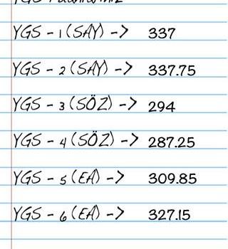 YGS LYS Puan Hesaplama Ekran Görüntüleri - 1