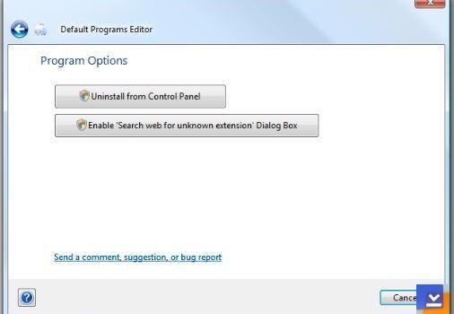 Default Programs Editor Ekran Görüntüleri - 2