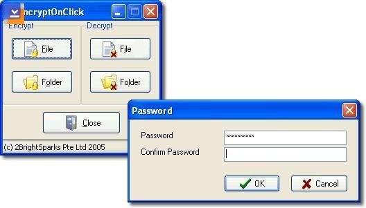 EncryptOnClick Ekran Görüntüleri - 1