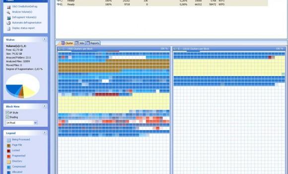 O&O Defrag Professional Edition Ekran Görüntüleri - 1