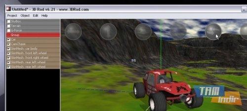 3D Rad Ekran Görüntüleri - 1