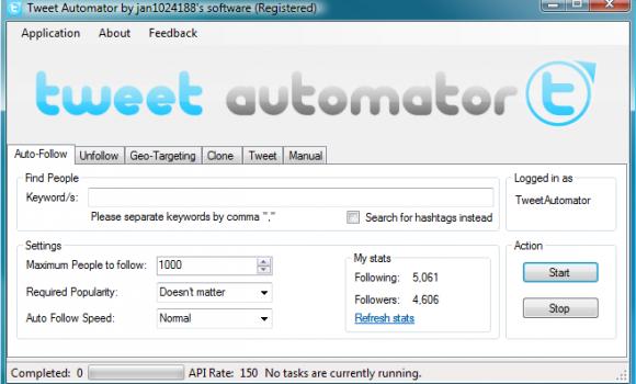 Tweet Automator Ekran Görüntüleri - 1