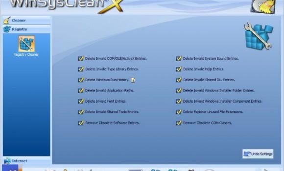 WinSysClean X Ekran Görüntüleri - 1