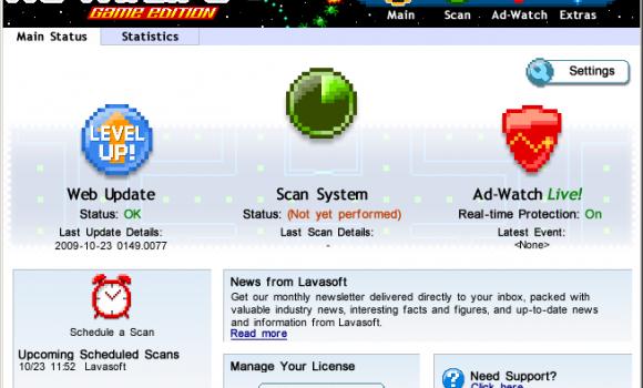 Ad-Aware Game Edition Ekran Görüntüleri - 3