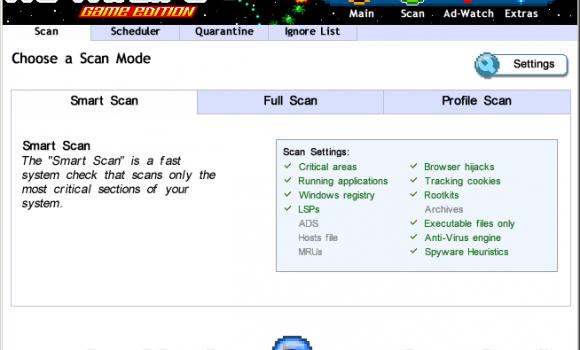 Ad-Aware Game Edition Ekran Görüntüleri - 2
