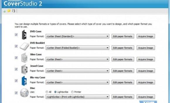Ashampoo Cover Studio Ekran Görüntüleri - 2
