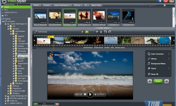 Ashampoo Video Styler Ekran Görüntüleri - 3