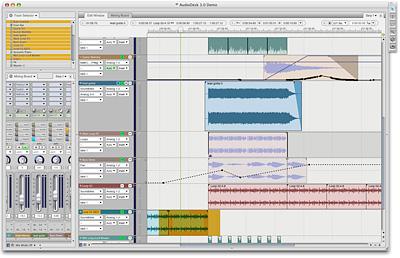 AudioDesk Ekran Görüntüleri - 1