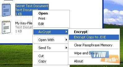 Axcrypt Ekran Görüntüleri - 2
