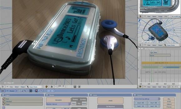 Blender Ekran Görüntüleri - 1