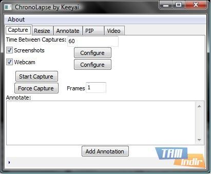 Chronolapse Ekran Görüntüleri - 1