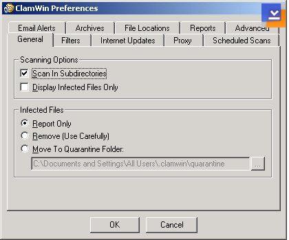 ClamWin Free Antivirus Ekran Görüntüleri - 2
