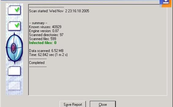 ClamWin Free Antivirus Ekran Görüntüleri - 1