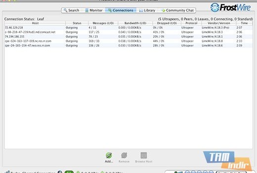 FrostWire Ekran Görüntüleri - 3