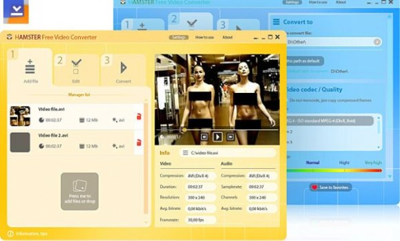 Hamster Free Video Converter Ekran Görüntüleri - 1