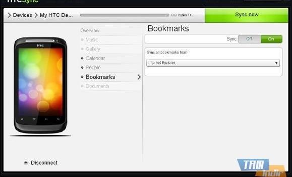 HTC Sync Ekran Görüntüleri - 1
