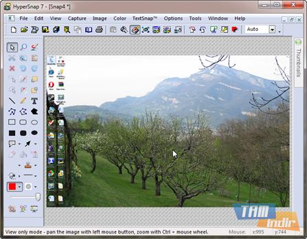 HyperSnap Ekran Görüntüleri - 1