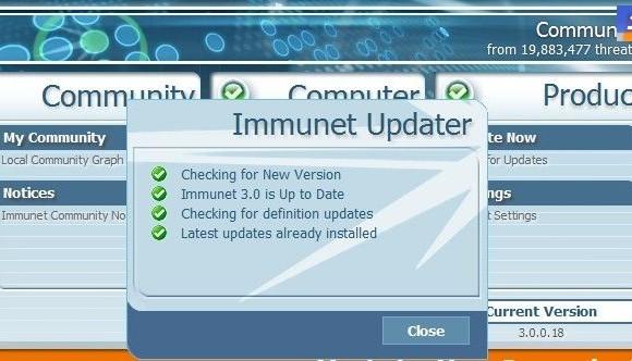 Immunet Protect Ekran Görüntüleri - 1