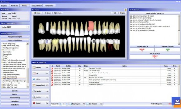 Boğaziçisoft Macro Dental 3D Diş Hekimliği Yazılımı Ekran Görüntüleri - 1