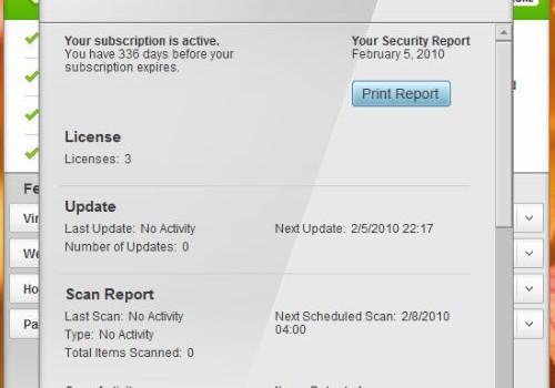 McAfee Total Protection Ekran Görüntüleri - 2