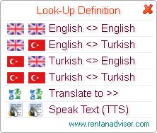 Multilingual Dictionary Ekran Görüntüleri - 1