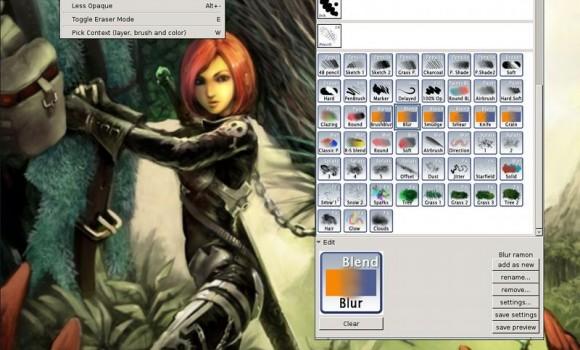 MyPaint Ekran Görüntüleri - 3